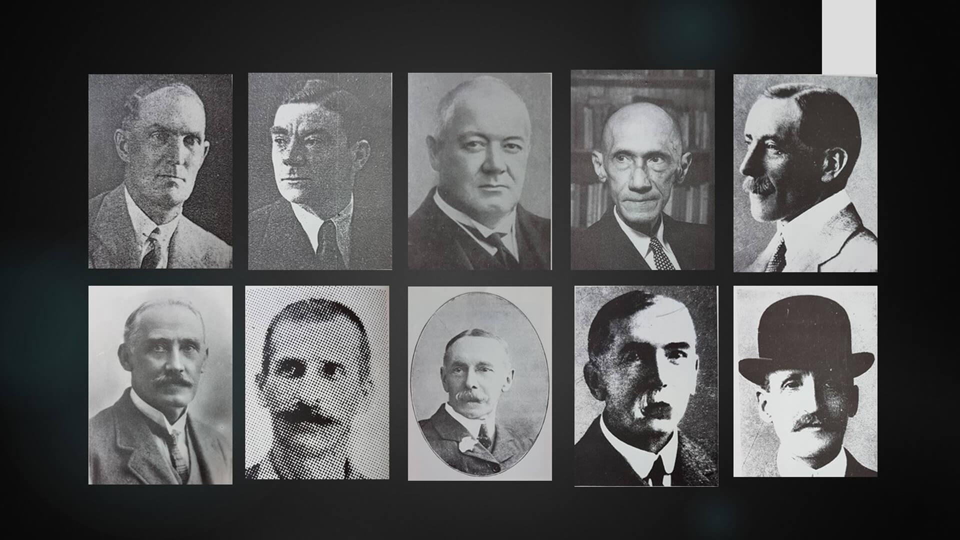 Past presidents and General Secretaries