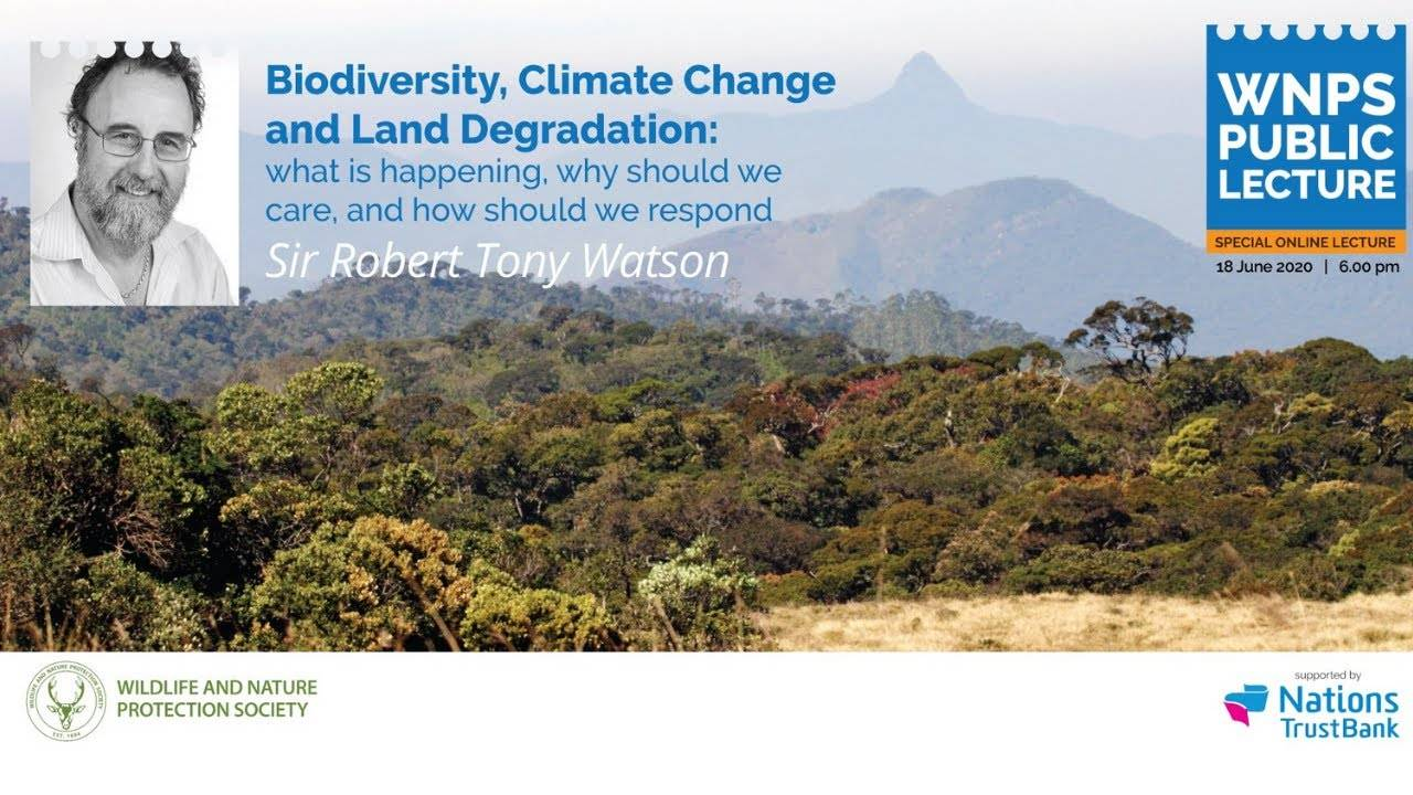 Biodiversity, Climate Change and Land Degradation
