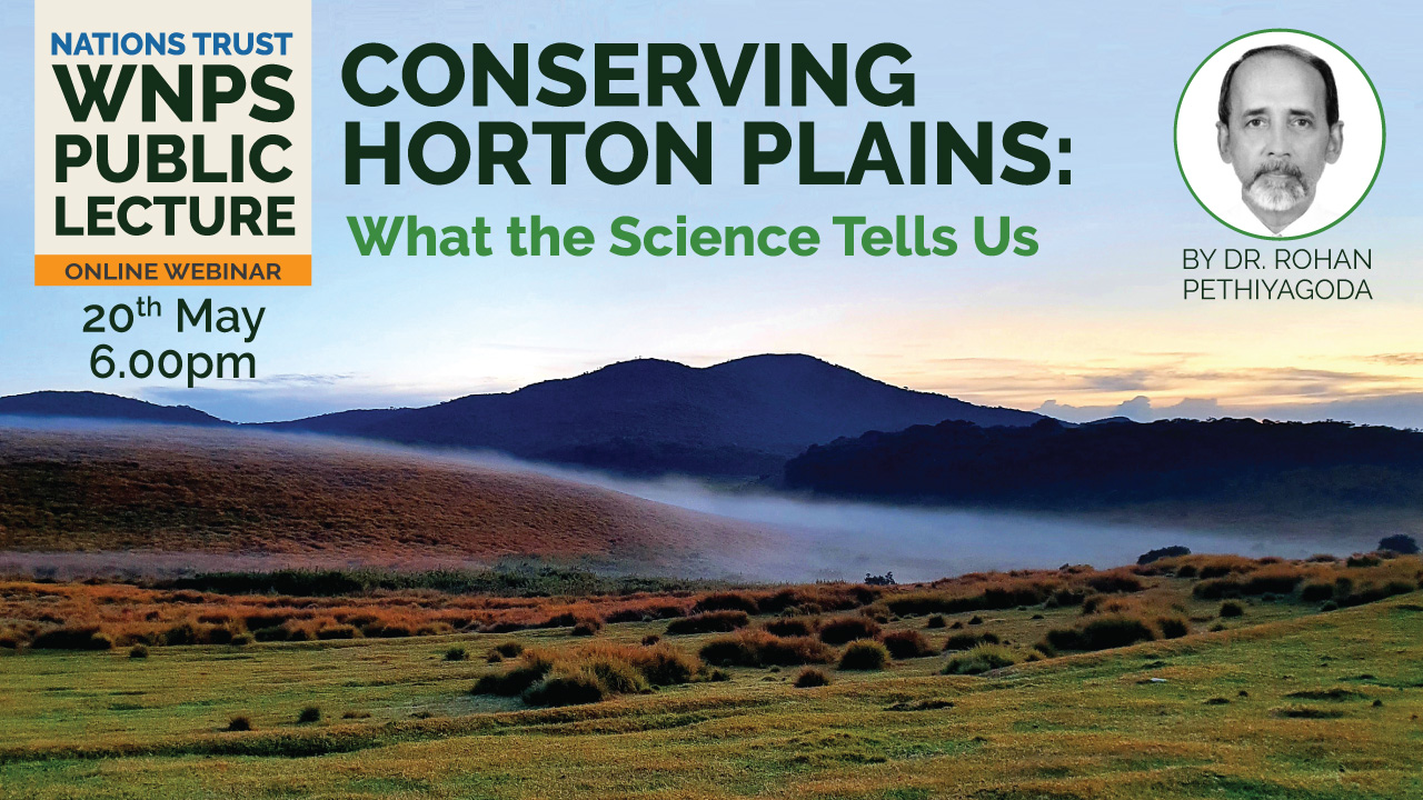 Conserving Horton Plains: What the Science Tells Us