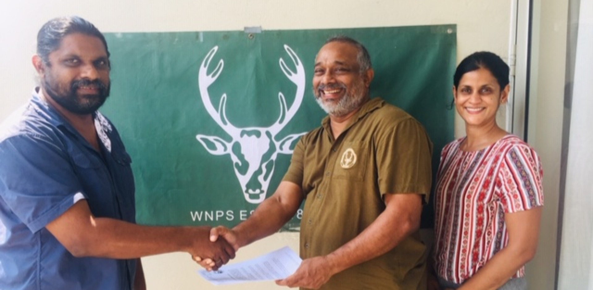 The Wildlife and Nature Protection Society signed an MOU with the Herpetological Foundation of Sri Lanka (HFS)